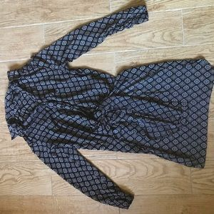 Forever 21 Tie-Front Blouse